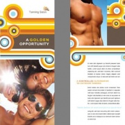 SPA BROCHURE DESIGN SERVICES BY GRAPHIC HERO