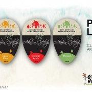 Olive Oli Label Design