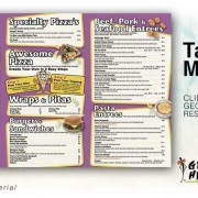 To Go Menu Design Services