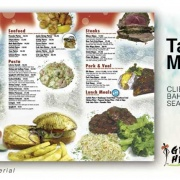 Take Out Menu Printing Services