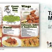 Restaurant Take Out Menu Design Services