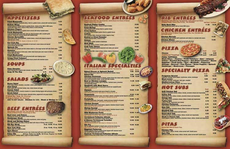 Restaurant Menu Printing Services High Gloss Uv Laminated